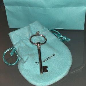 Tiffany & Co. Silver Key pendant